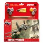 Airfix English Hawker Typhoon Starterset 1:72