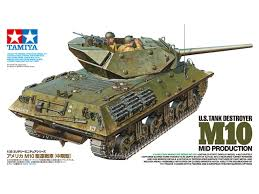 Tamiya M10 U.S.Tank Destroyer 1:35