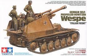 Tamiya German Self Propelled Howitzer Wespe 1:35