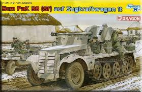 Dragon 5cm PAK 38(sf) auf Zugkraftwagen 1t 1:35