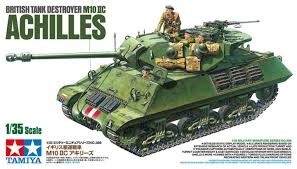 Tamiya British Tank Destroyer M10 II C 17pndr SP Achilles 1:35