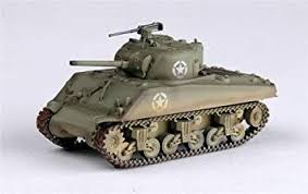 Easy Model  Sherman M4A3 Middle Tank 1  1:72