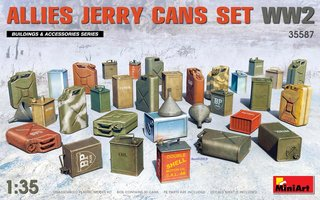 Miniart Allies Jerry Can Set WW2 1:35