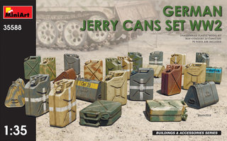 Miniart German Jerry Can Set WW2 1:35
