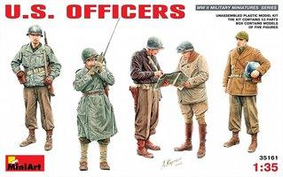 Miniart U.S. Officers 1:35