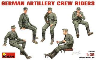 Miniart German Artillery Crew Riders 1:35