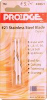 Pro-Edge Stainless Steel Blades(5)