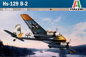 Italeri  Hs-129 B-2  1:72