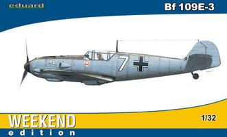 Eduard Bf109E-3 Weekend Edition  1:32