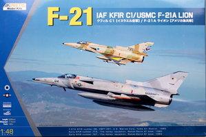 Kinetic IAF C1 Kfir/USMC F-21A Lion  1:48