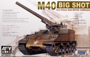 AFV  M40 Big Shot  1:35