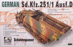 AFV German Sd.Kfz.251/1 Ausf.D 1:35