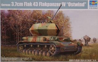 Trumpeter German 3.7cm Flak 43 Flakpanzer IV Ostwind1:35