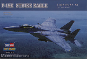 HOBBYBOSS	F15E Strike Eagle 		1:72