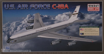 Minicraft	C-137/C-18A Military Boeing 707 3 marking options: USAF C-18, Canadian en NATO   1:144                                                                	MC14594	144