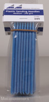 Albion Alloys Plastic sanding needles 240 blue