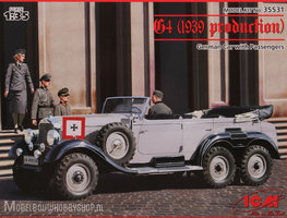 ICM	G4 (1939 production) German Car with Passengers (3 figures)		1:35