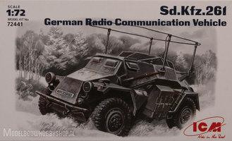 ICMSd.Kfz.261 German Radio Communication Vehicle 1:72