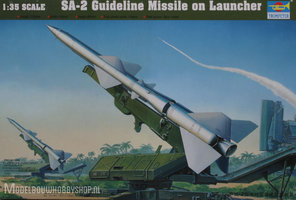 Trumpeter  SAM-2 Missile with Launcher Cabin		1:35