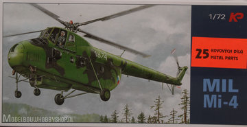 Kopro Plastic ModelbouwMil Mi-4 Hound1:72