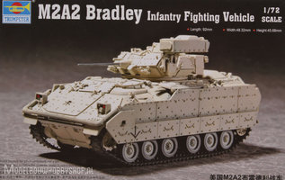 Trumpeter	M2A2 Bradley Infantry Fighting Vehicle 	1:72