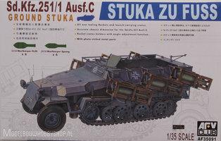 AFV Sd.Kfz 251/1 Ausf C  Stuka  1:35