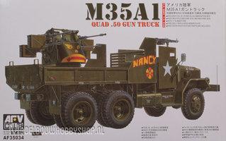 AFV M35A1  Quad .50 Gun Truck 1:35
