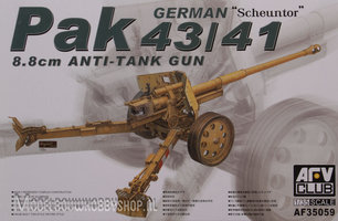 AFV German Pak 43/41  88mm anti tank gun 1:35