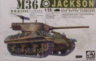 AFV M36 Jackson 90mm Tank Destroyer 1:35