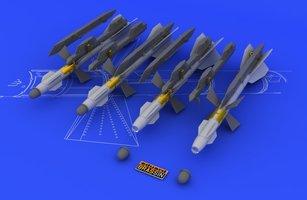 Eduard Brassin R-27T/T1 AA-10 Alamo-B Air to Air Missiles 1:48