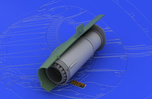 Eduard Brassin MiG-21 MF/SMT exhaust nozzle 1:48