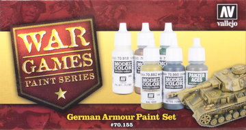 Vallejo War Games German SS Paint Set