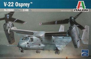 Italeri Plastic Modelbouw V-22 Osprey 1:48