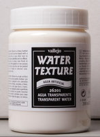 Vallejo Water Stone & Earth; Water Texture Transparant Water 200ml