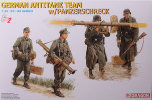 Dragon German Anti Tank Team Panzerschreck  1:35