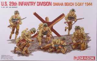 Dragon U.S. 29th Infantry Division Omaha Beach D-Day 1944  1:35