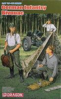 Dragon German Infantry Bivouac  1:35