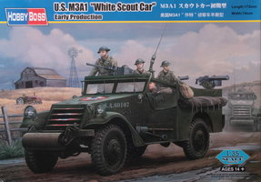 HobbyBoss US M3A1 White Scout Car	1:35
