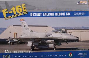 Kinetic F-16E Block60 Desert Falcon 1:48