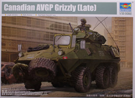 Trumpeter Plastic Modelbouw Canadian AVGP Grizzly  1:35