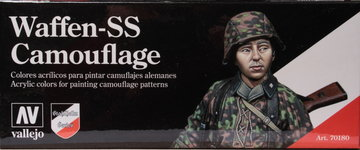Vallejo Model Color Waffen-SS Camouflage set  8x17ml