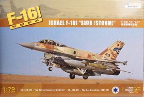 Kinetic  Israeli F-16I SUFA  1:72