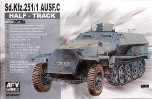AFV Club Sd.Kfz.251/1 AusF.C  1:48
