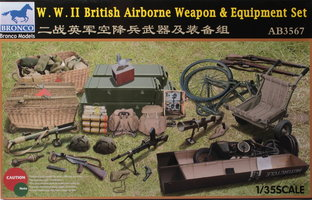 Bronco WW.II British Airborne Weapon&Equipment Set 1:35