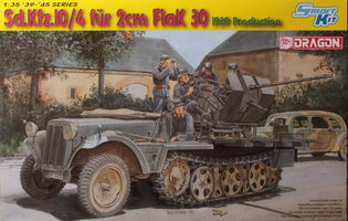 Dragon  Sd.Kfz.10/4 with 2cm Flak 30  1:35