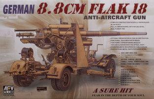 AFV  German 8,8CM Flak 18  1:35