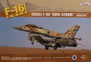 Kinetic Israel F-16I SUFA 1:48