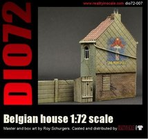 Reality in Scale Belgian House  1:72