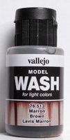 Vallejo Wash Brown 35ml
