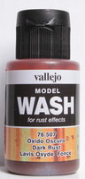 Vallejo Wash Dark Rust 35ml